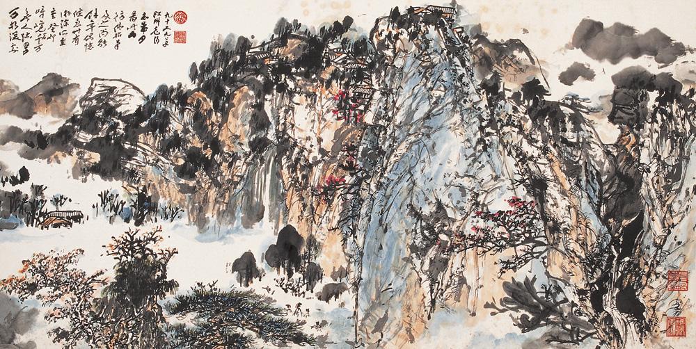 《峨眉仙境图》