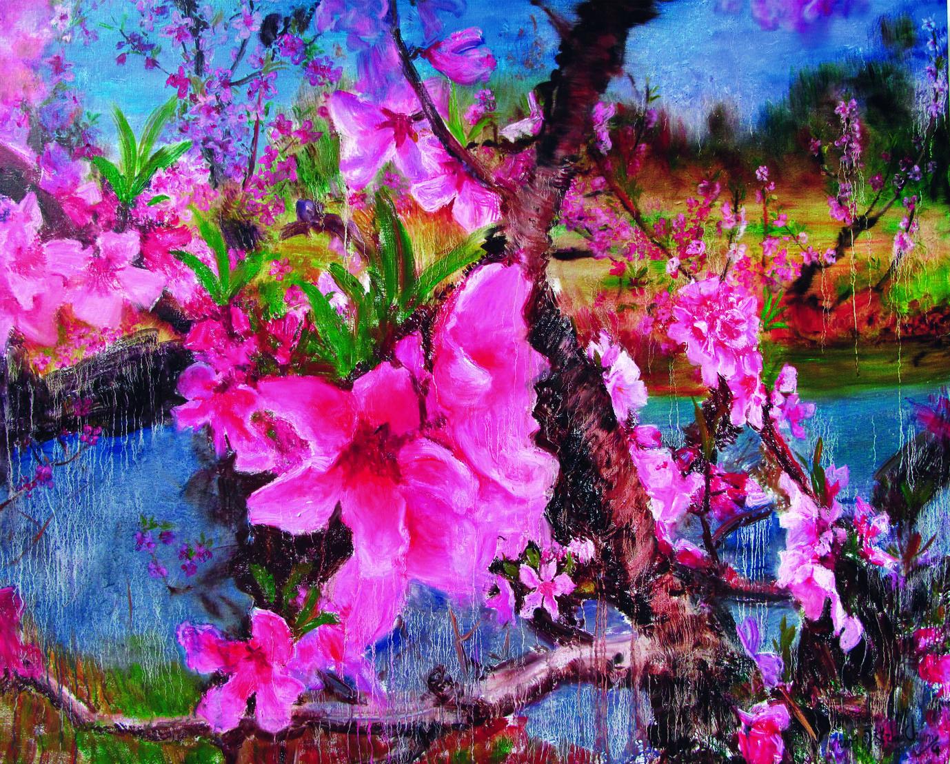 周春芽绘画作品