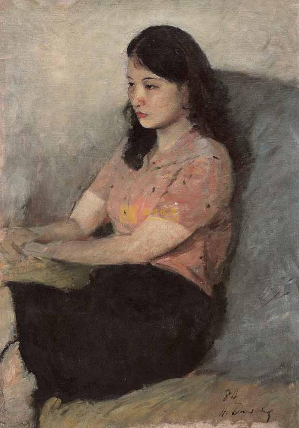 《女青年肖像》