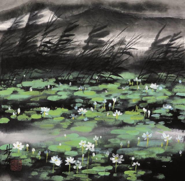 林风眠绘画作品