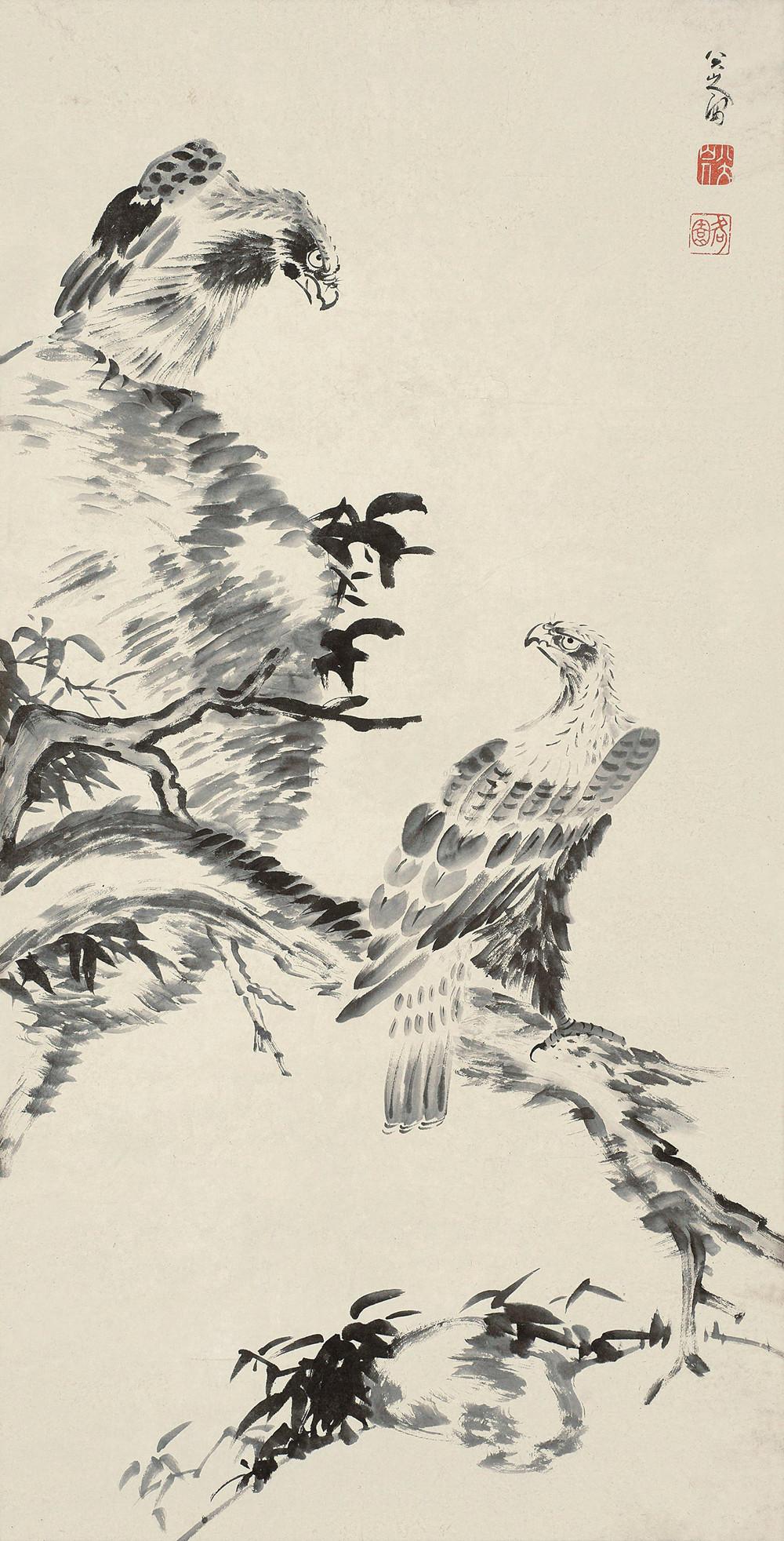 《双鹰图》