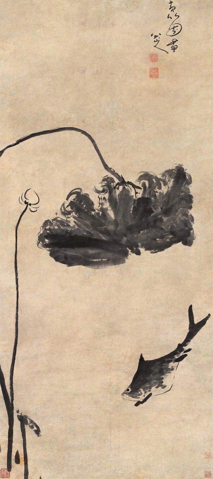 八大山人绘画作品