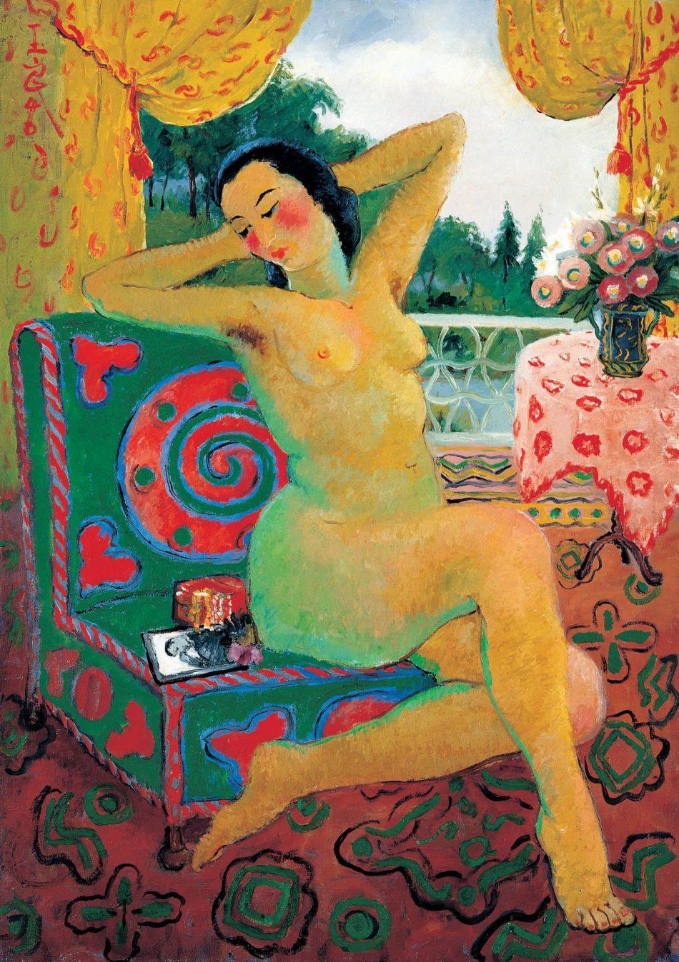 《窗边裸女》