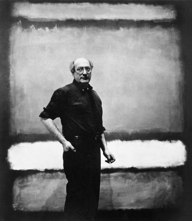 马克·罗斯科肖像
