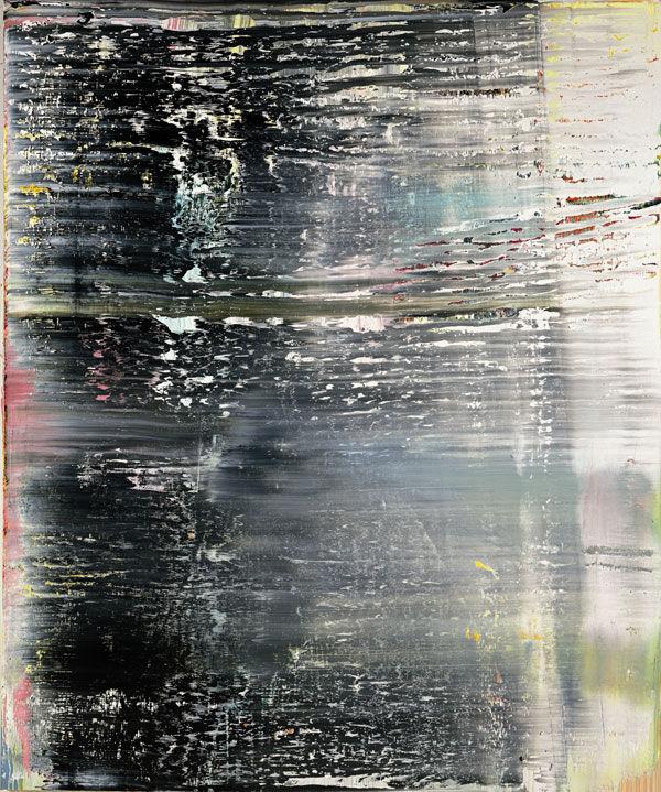 格哈德·里希特绘画作品