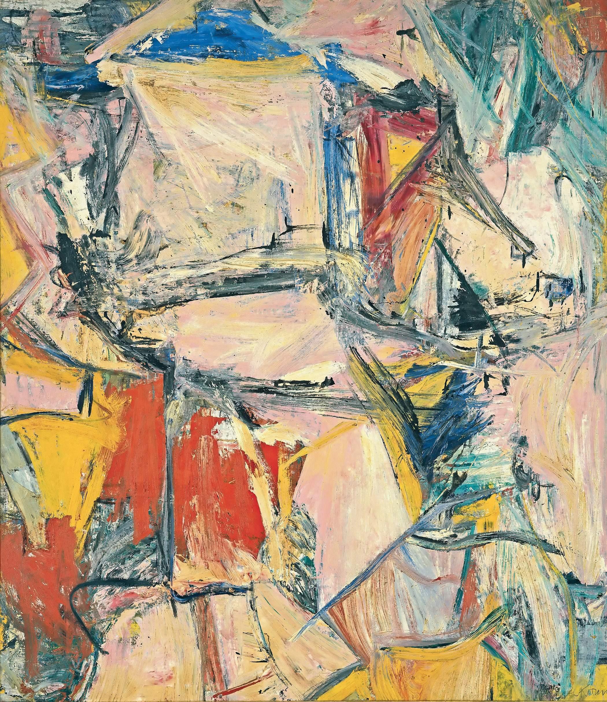 威廉·德·库宁绘画作品