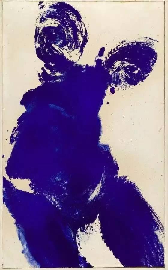 伊夫·克莱因绘画作品