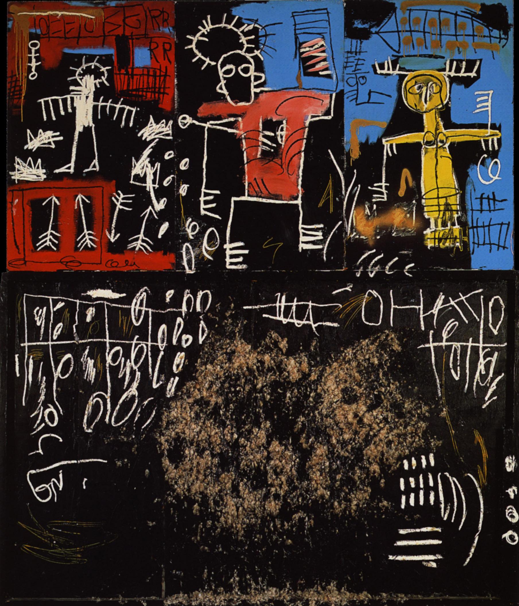尚·米榭·巴斯奇亚绘画作品