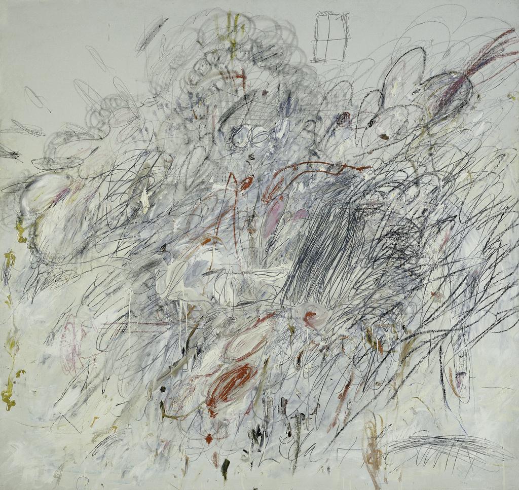 赛·托姆布雷绘画作品