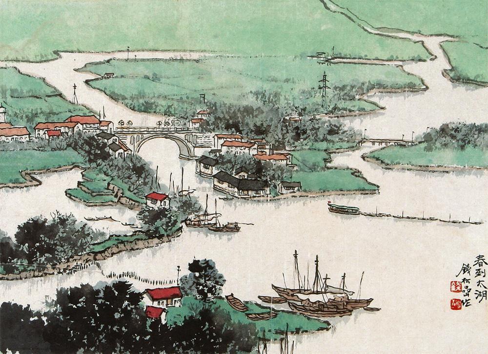 《春到太湖》