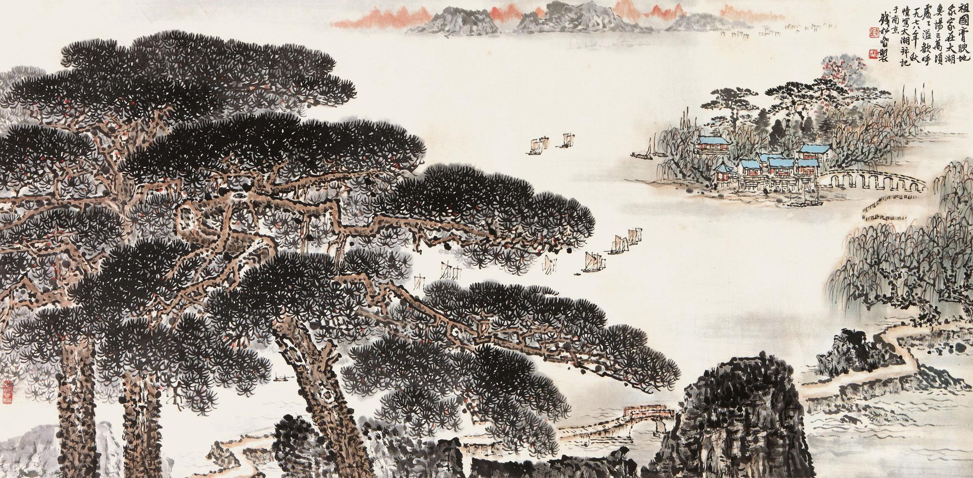 《太湖胜景》