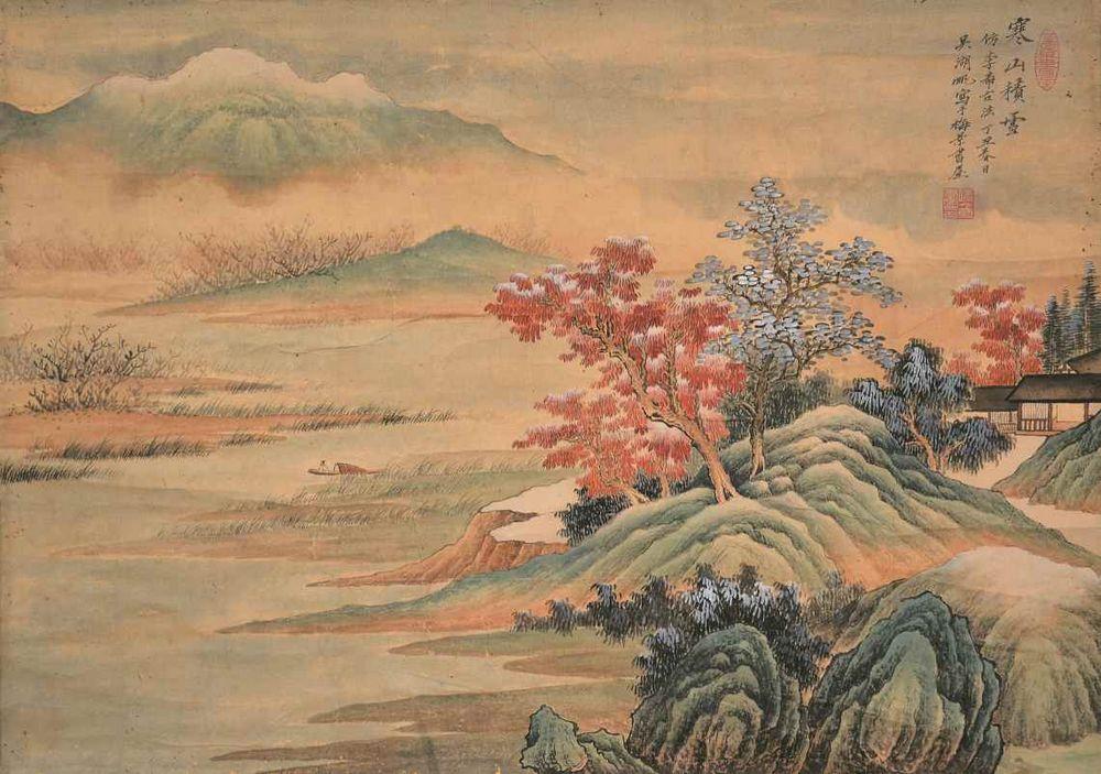 吴湖帆绘画作品