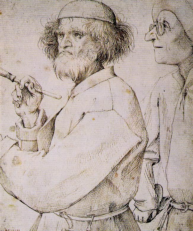 彼得·勃鲁盖尔肖像