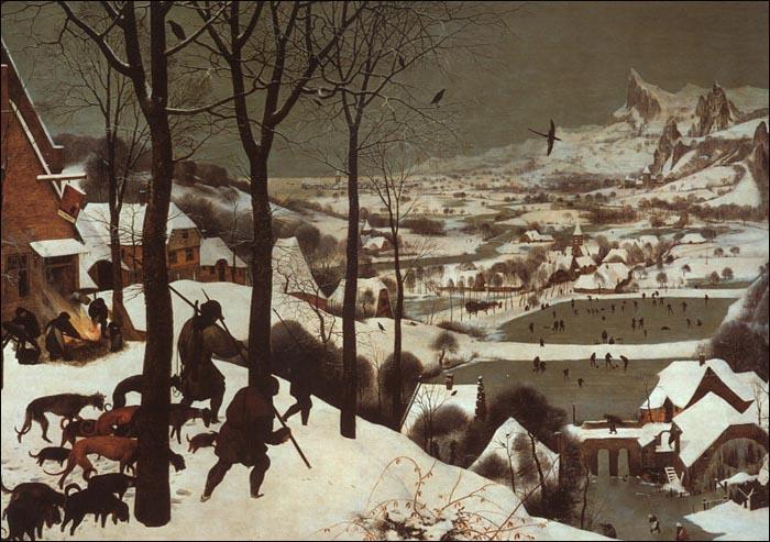 《雪中猎人》