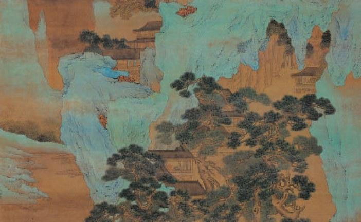 中国明代著名水墨人物画家_仇英_QiuYing