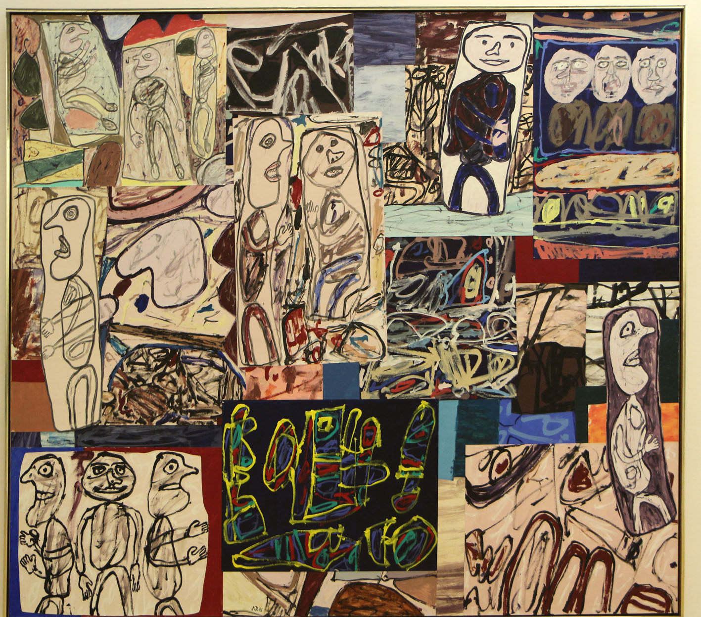 让·杜布菲绘画作品