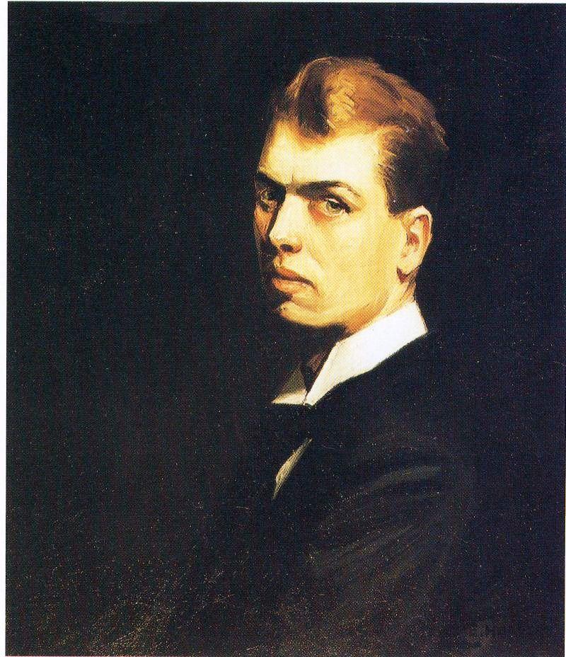 爱德华·霍普自画像