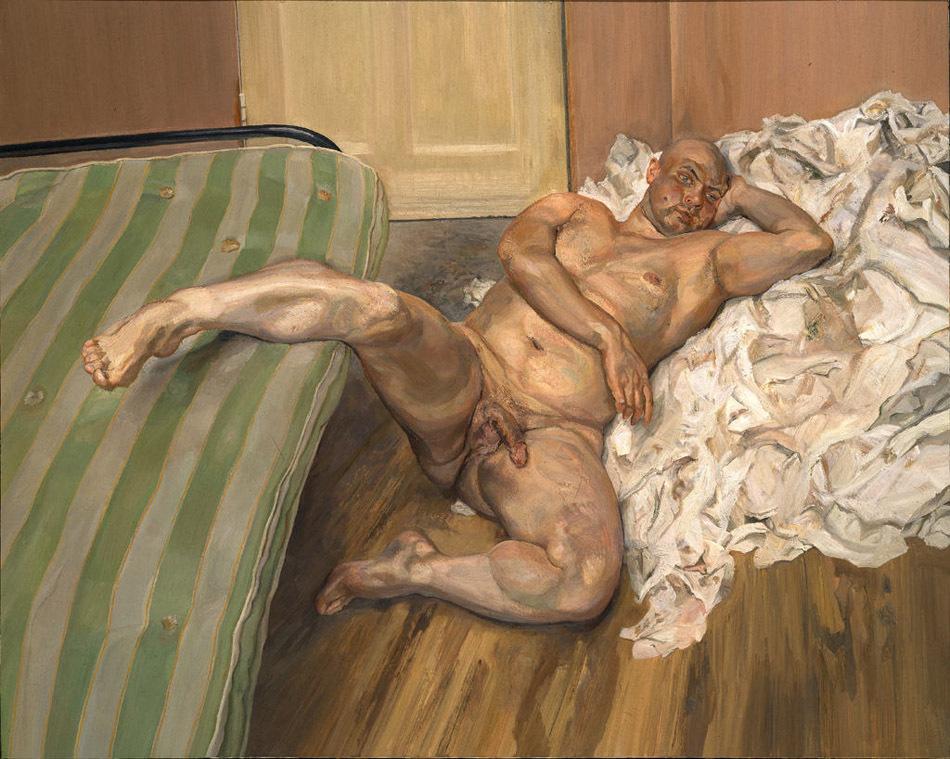 卢西安·弗洛伊德绘画作品