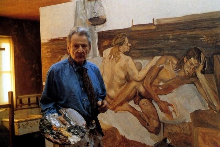 卢西安·弗洛伊德肖像