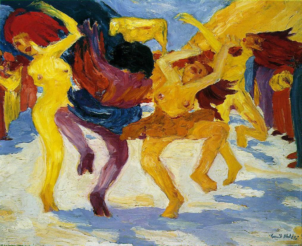 《围着金牛犊的舞蹈》
