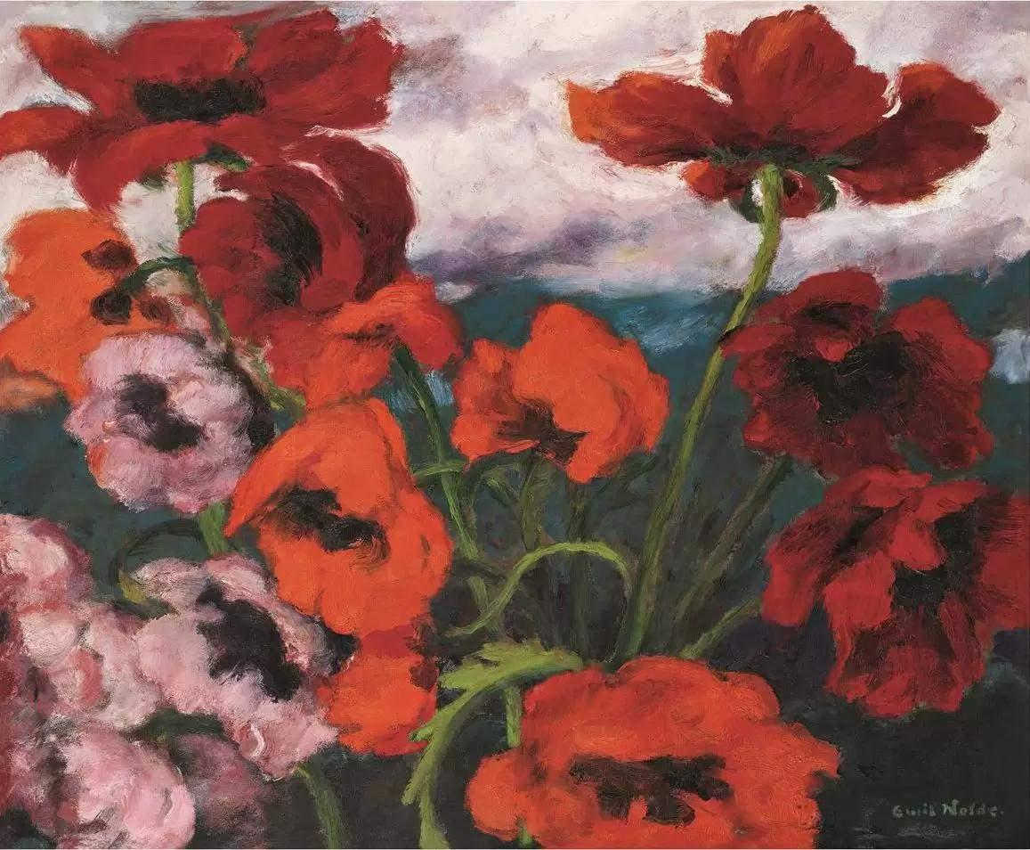 埃米尔·诺尔德绘画作品