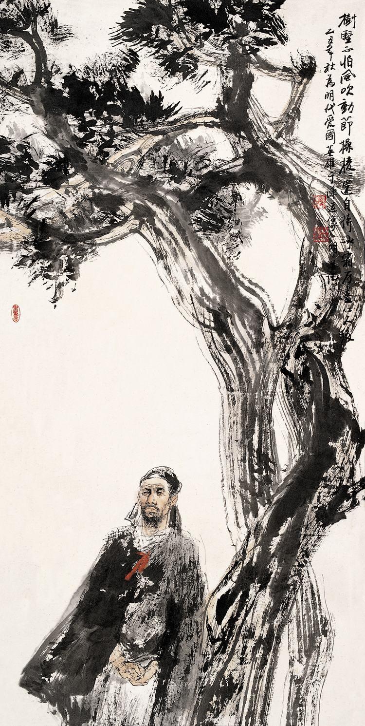 《王明明绘画作品》