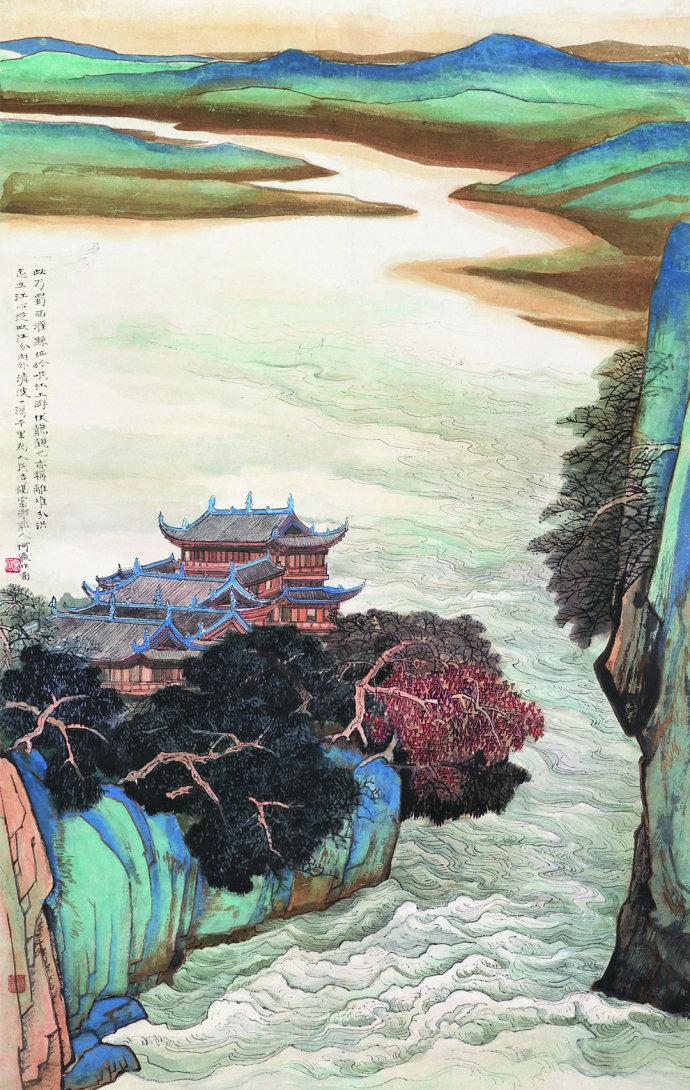 何海霞绘画作品