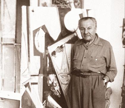 汉斯·霍夫曼肖像