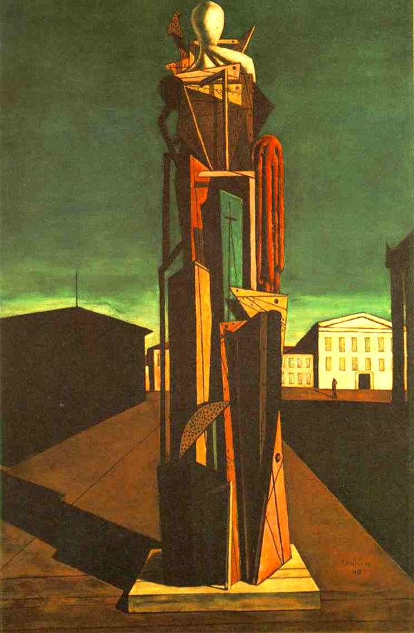 乔治·德·基里科绘画作品