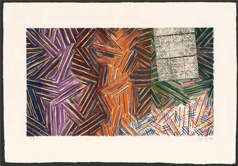 贾斯珀·约翰绘画作品
