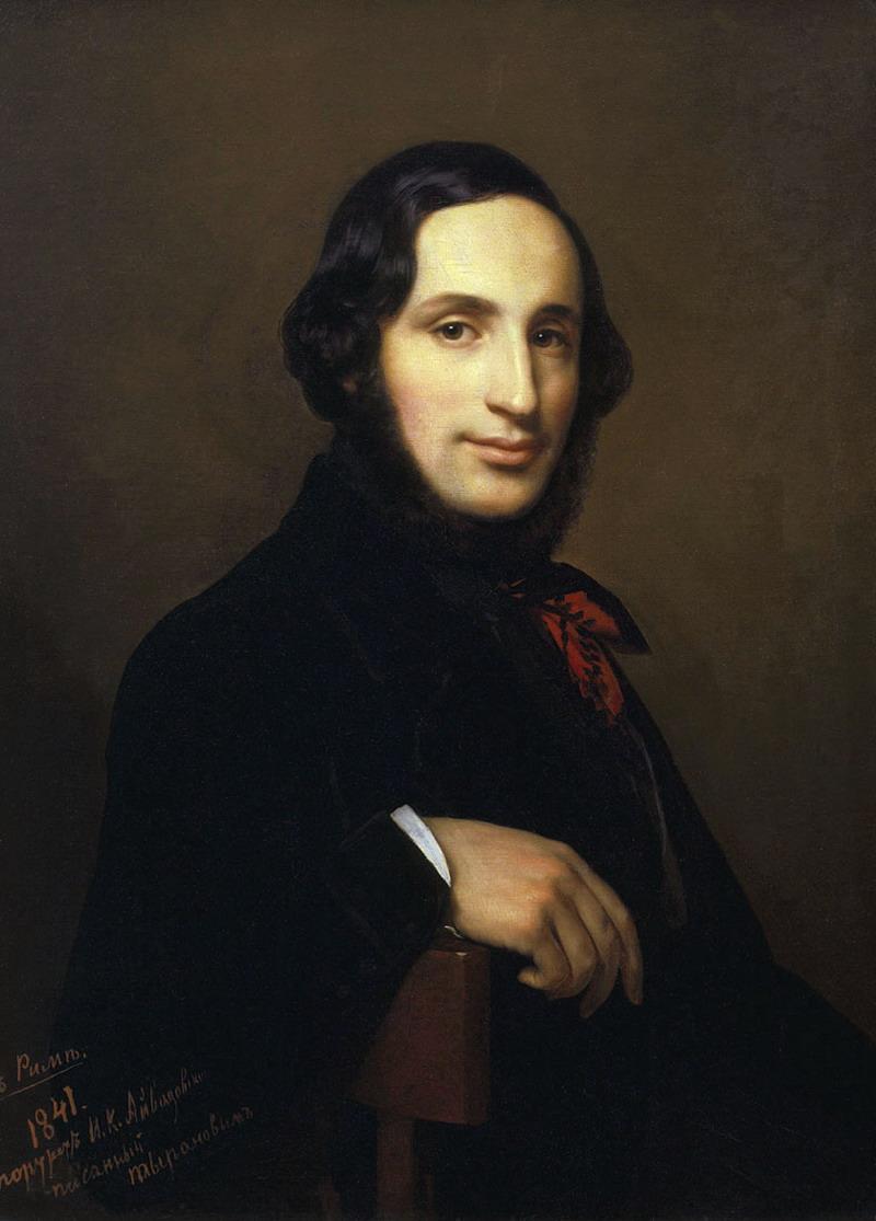 伊凡·康斯坦丁诺维奇·艾瓦佐夫斯基肖像