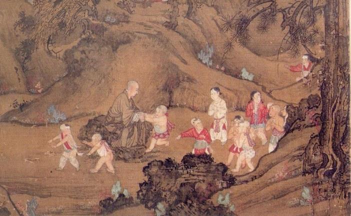 中国元代宫廷界画第一人_王振鹏_WangZhenPeng