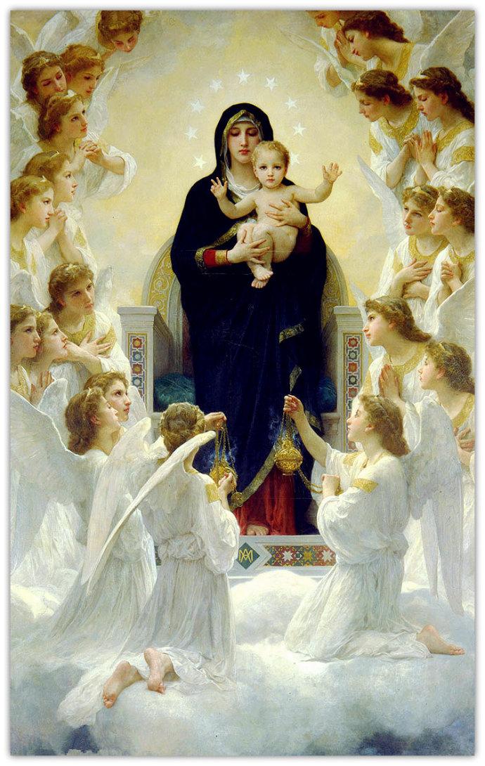 《圣母与天使》