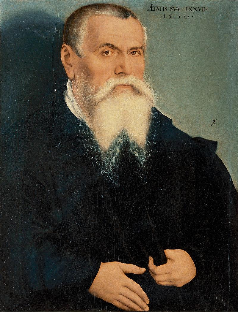 老卢卡斯·克拉纳赫自画像