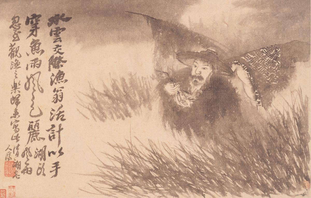 石涛绘画作品