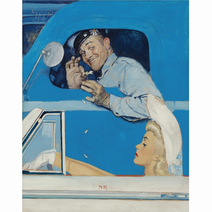 诺曼·洛克威尔绘画作品