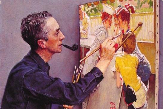 美国20世纪早期重要画家诺曼·洛克威尔     Norman Rockwell