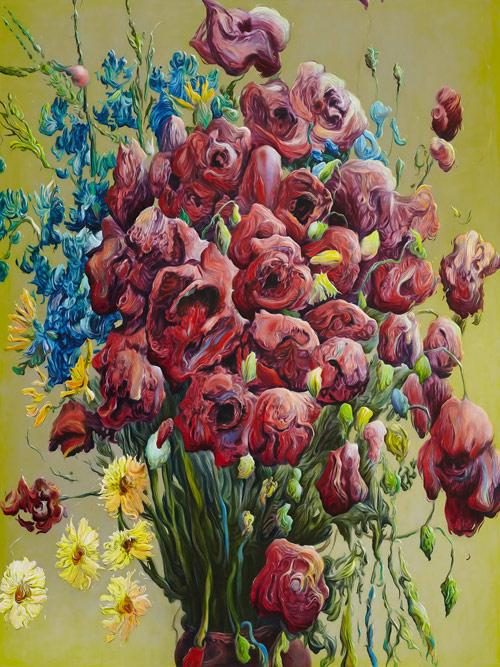 格伦·布朗绘画作品