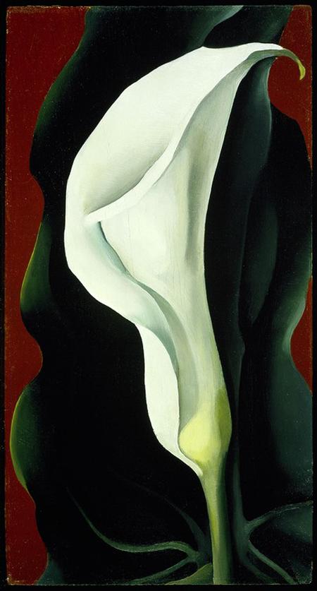 乔治亚·欧姬芙绘画作品