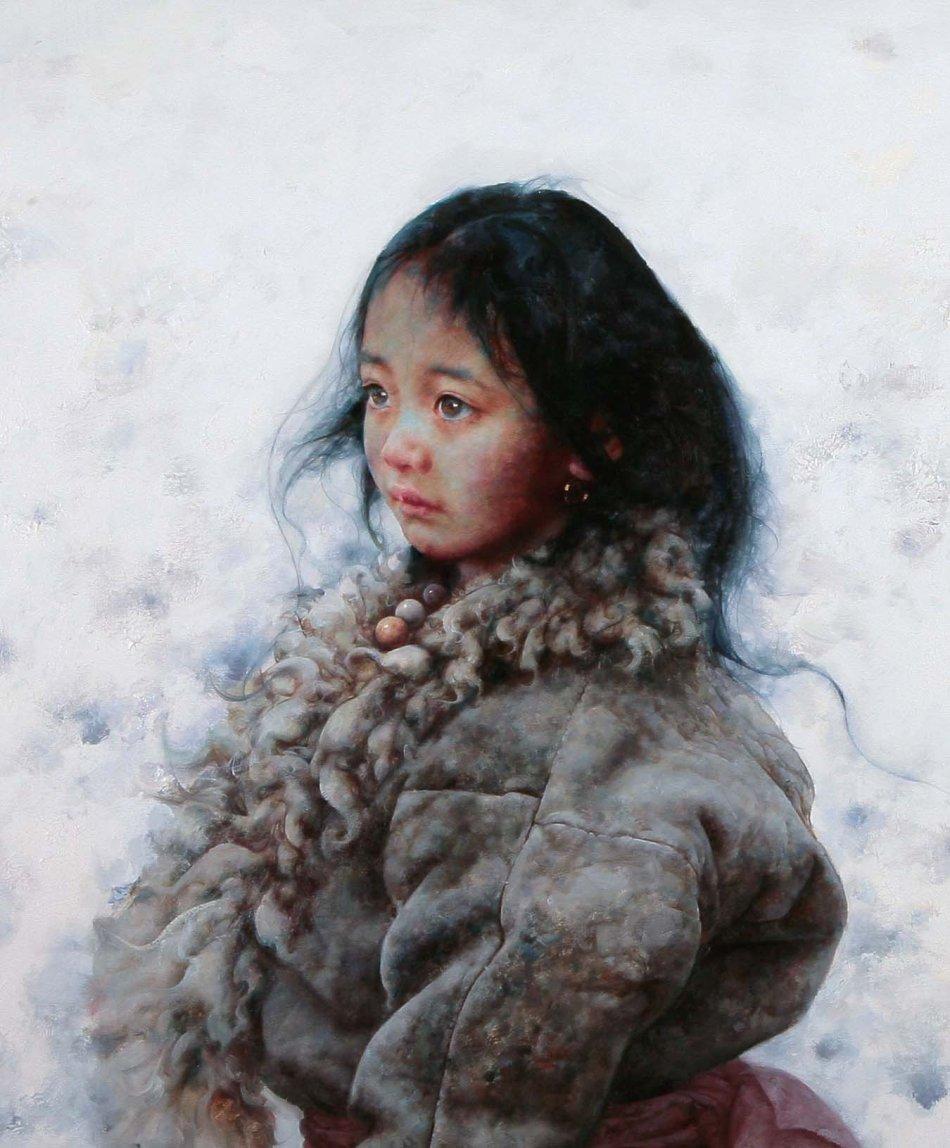 艾轩绘画作品