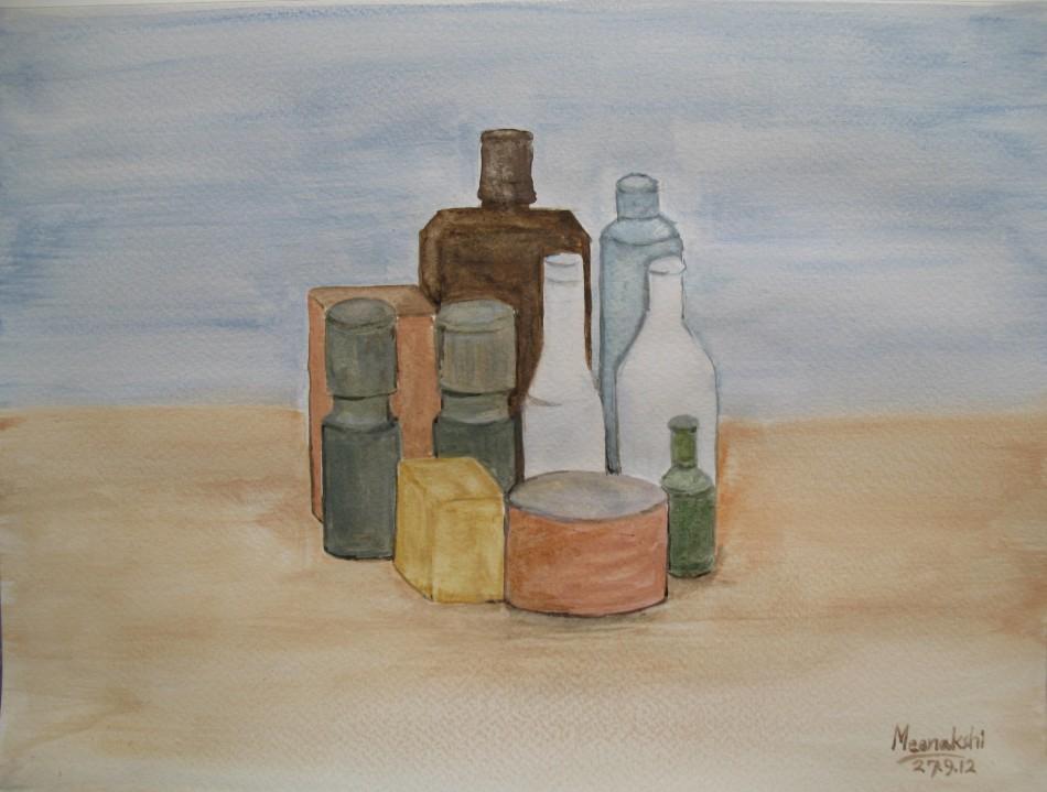 乔治·莫兰迪绘画作品