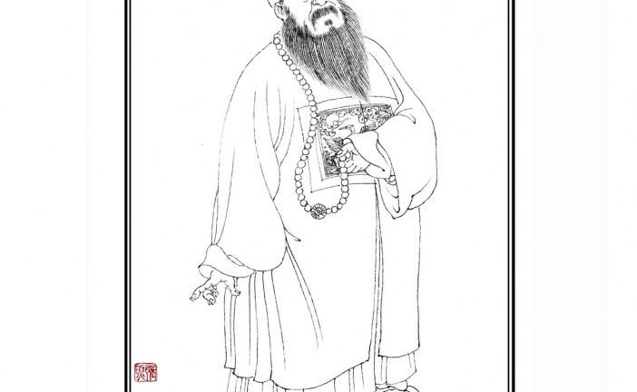 清代著名书法家张照   ZhangZhao