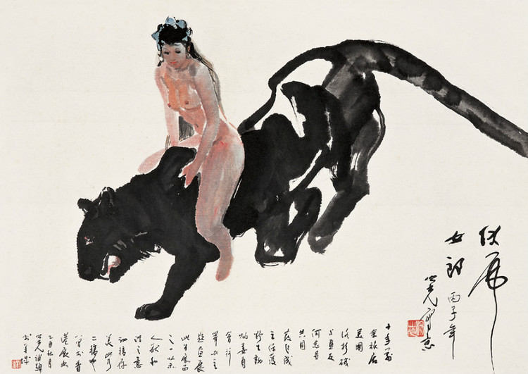 杨之光绘画作品