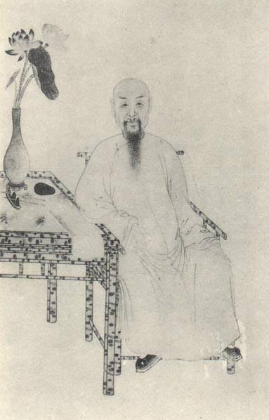 蒋廷锡肖像