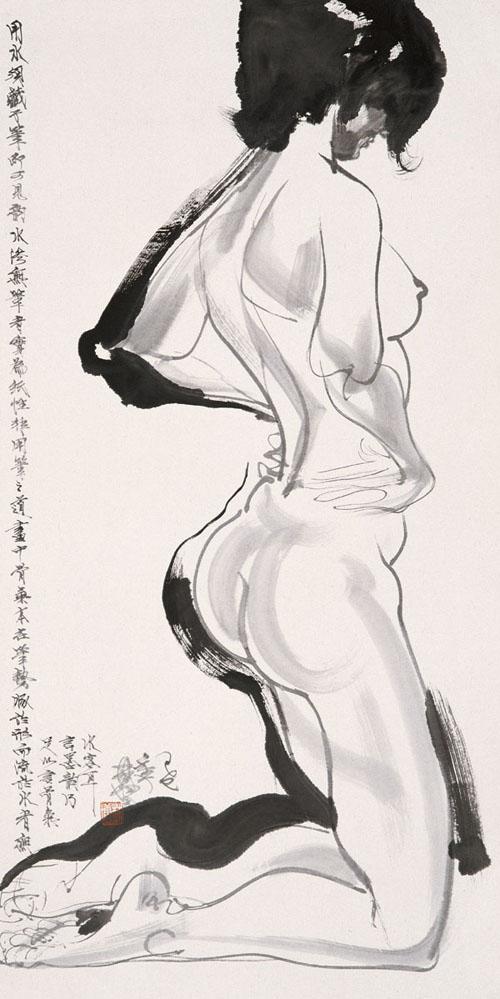 林墉作品《人体》