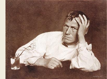 奥托·迪克斯肖像