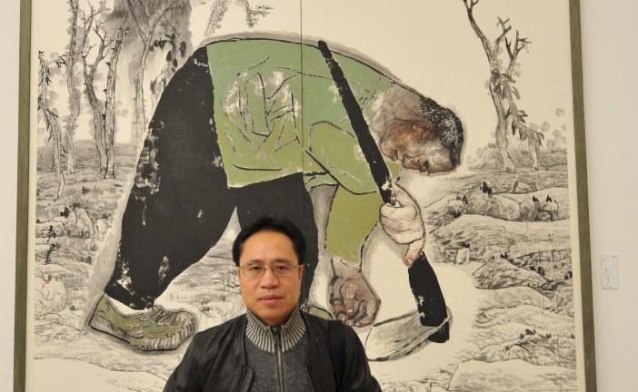 著名国画画家袁武     YuanWu