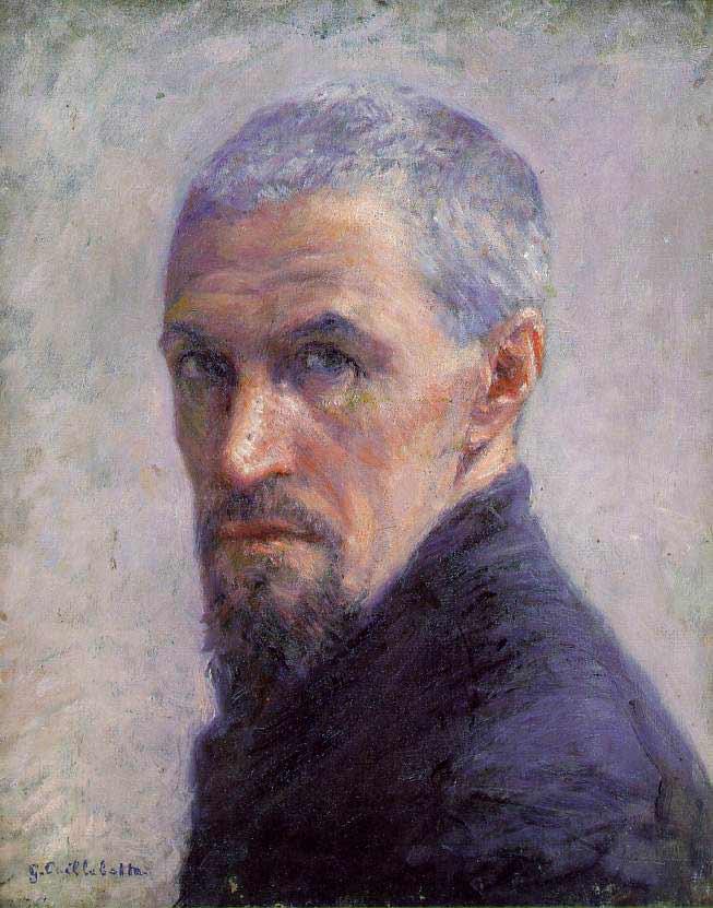 居斯塔夫·卡耶博特肖像