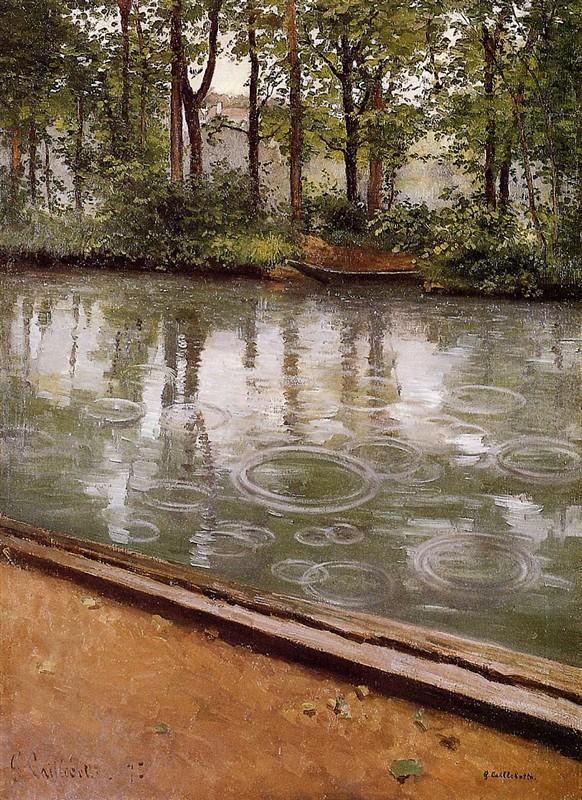 居斯塔夫·卡耶博特绘画作品