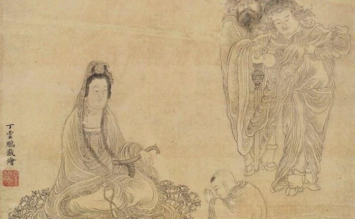 明代著名画家丁云鹏_DingYunPeng